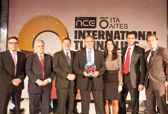 Legacy Way wins International Tunnelling Award
