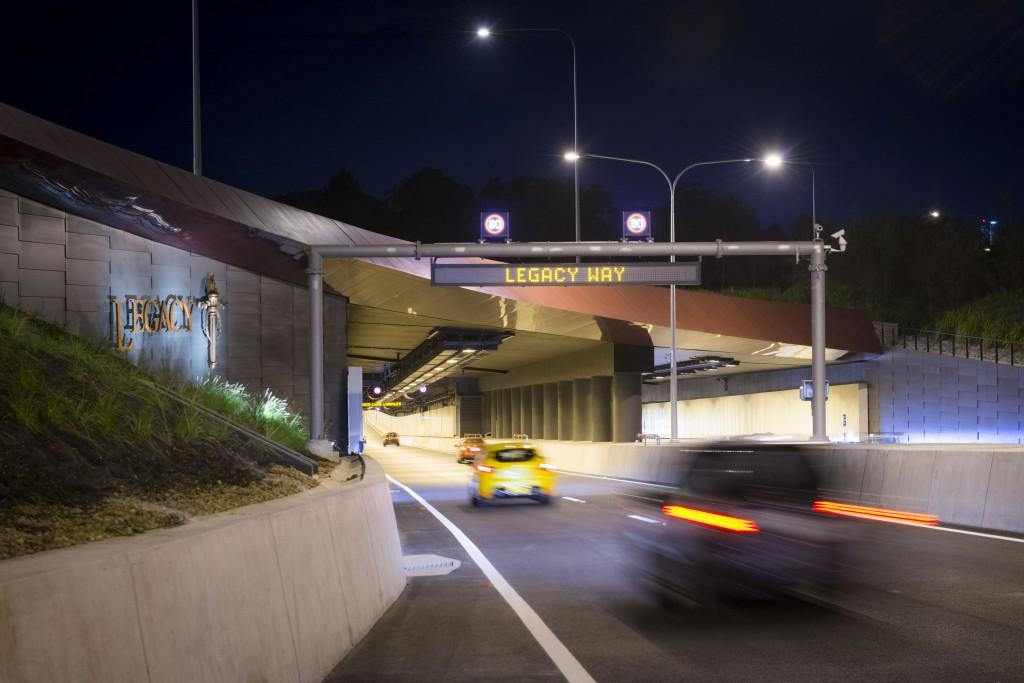 New Legacy Way tunnel opens to traffic today